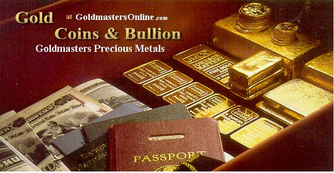 Investing in Gold Bullion Bars & Gold Coins - Goldmasters USA
