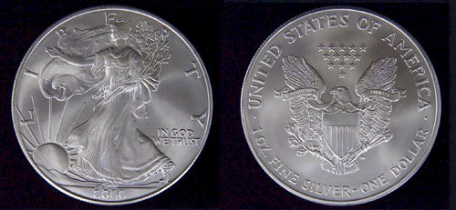 silver eagle coins, silver eagle dollars and american silver eagles